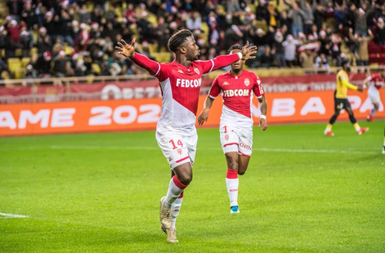 El AS Monaco cerró el año con una goleada