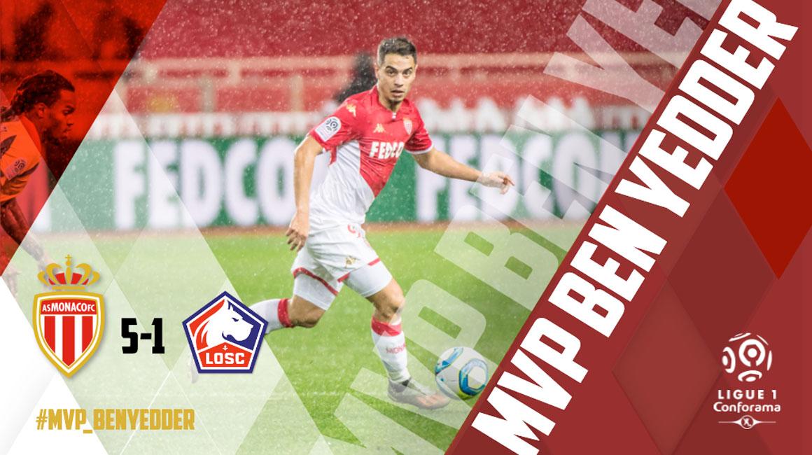 Виссам Бен-Йеддер становится лучшим игроком матча в третий раз в декабре!