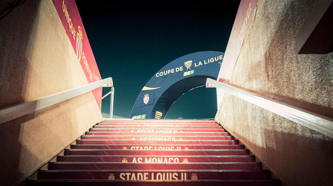 33e match de Coupe de la Ligue à Louis-II