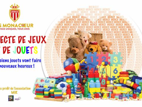 AS Monaco - LOSC : collecte de jouets mardi soir