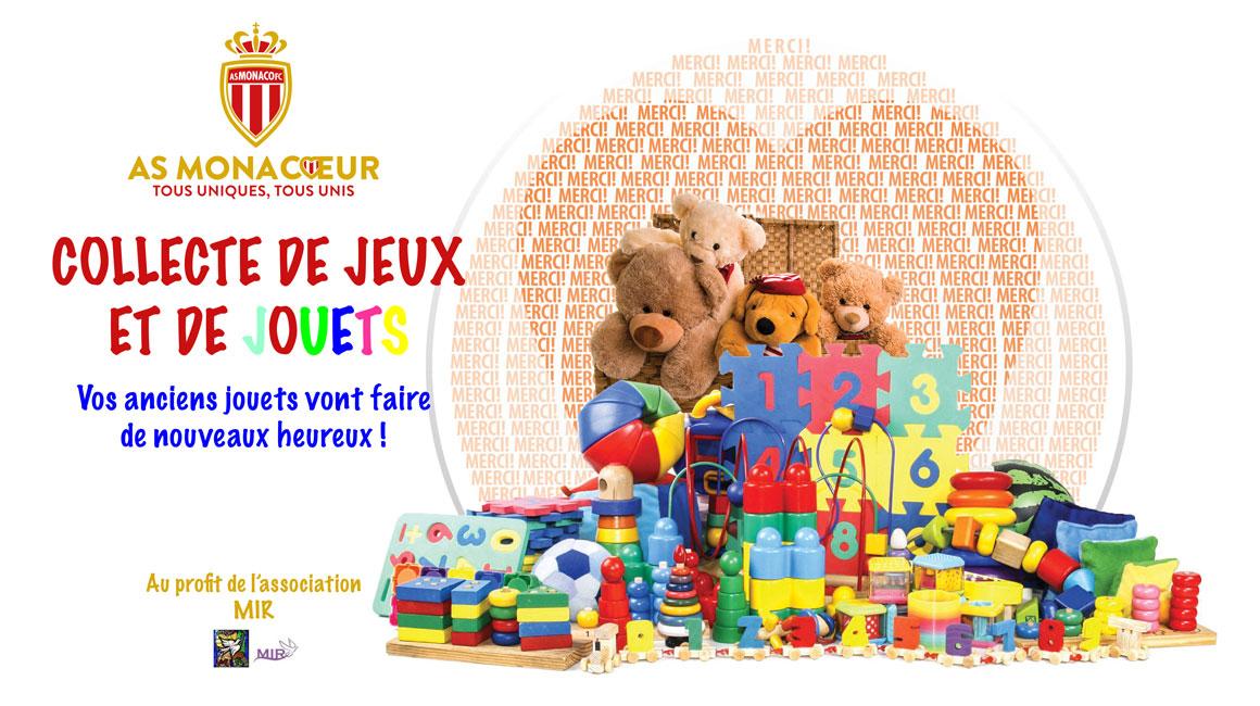AS Monaco - LOSC : collecte de jouets ce soir