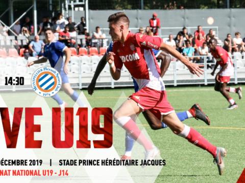 U19 : le choc AS Monaco - Montpellier HSC en live