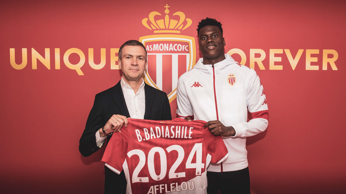 Benoît Badiashile renova até 2024