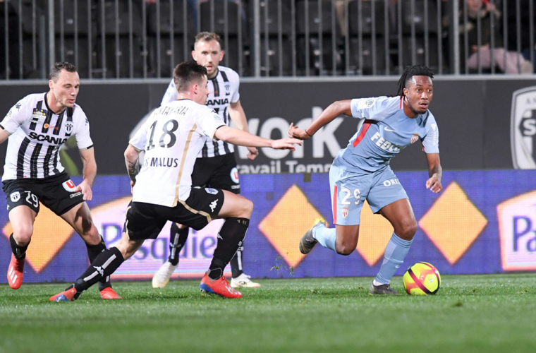 The last 5 matches between Angers and AS Monaco in video