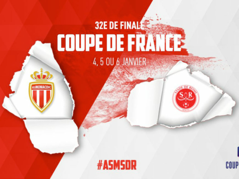 AS Monaco - Stade de Reims in the Coupe de France