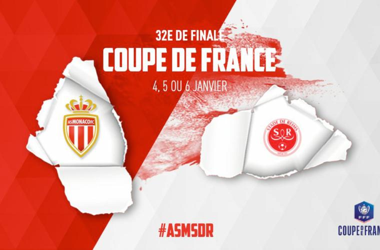 AS Monaco - Stade de Reims en 32es