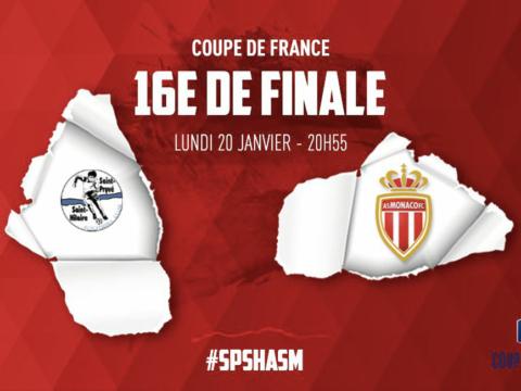 St-Pryvé/St-Hilaire - AS Monaco programmé le 20 janvier à 20h55