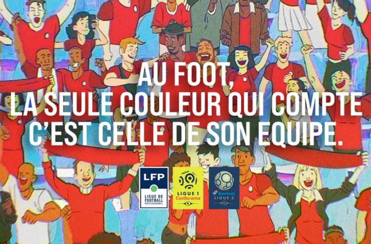 Le football professionnel uni contre le racisme