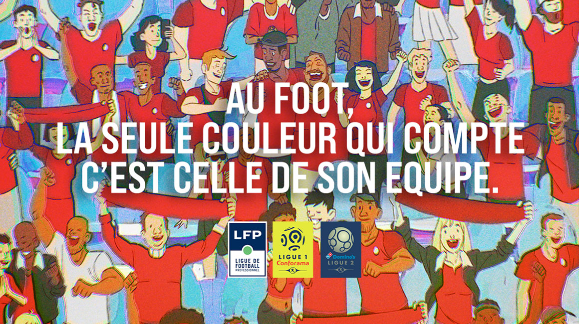 Le football professionnel uni contre le racisme