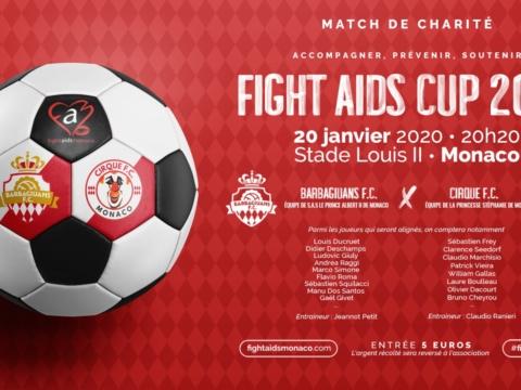 Rendez-vous ce soir au Stade Louis-II pour la Fight Aids Cup