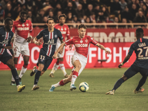 L'AS Monaco s'incline face au PSG
