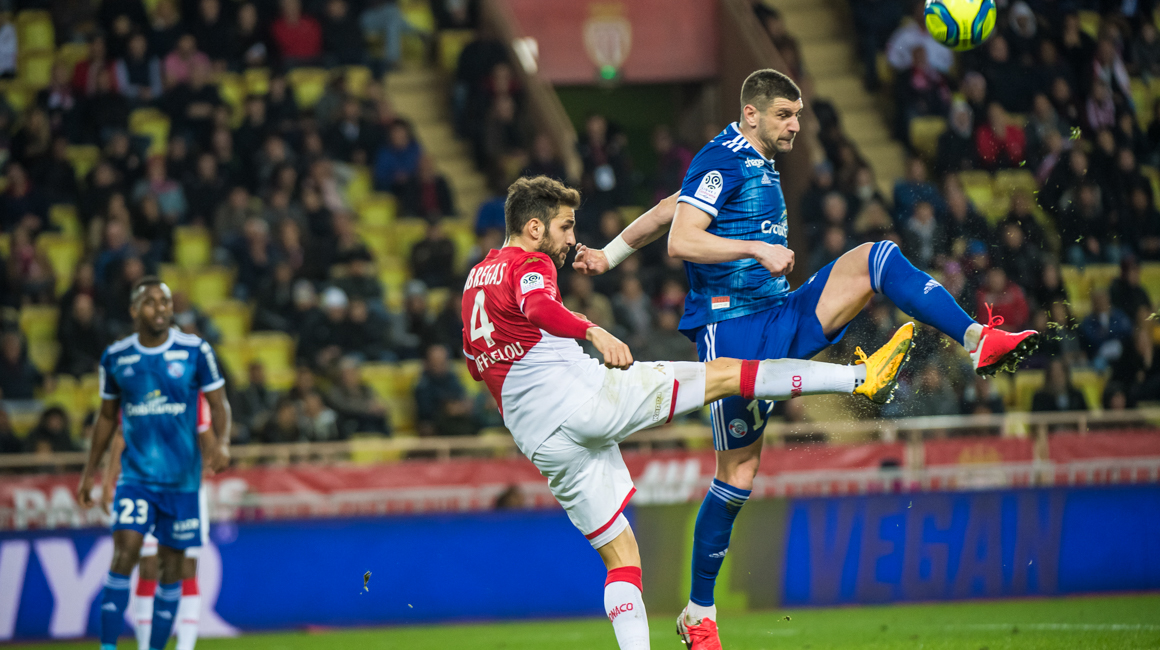L'AS Monaco s'incline face à Strasbourg