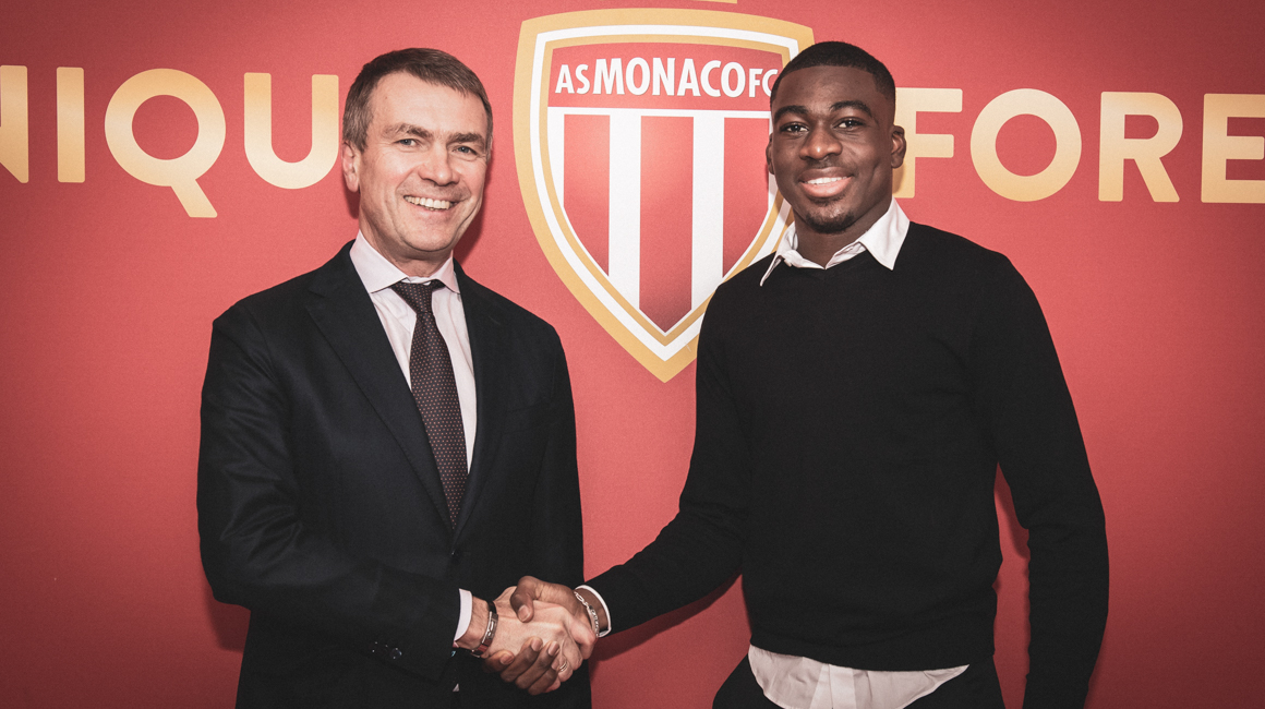 Youssouf Fofana à l'AS Monaco