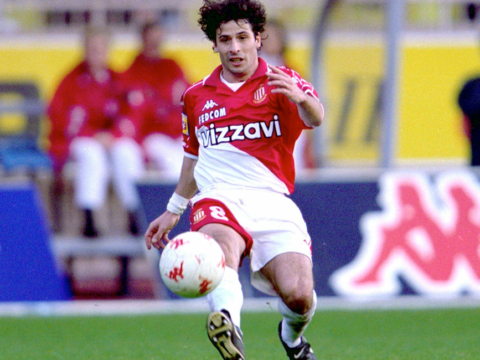 January 24, 1998, Ludovic Giuly makes his debut on the Rock