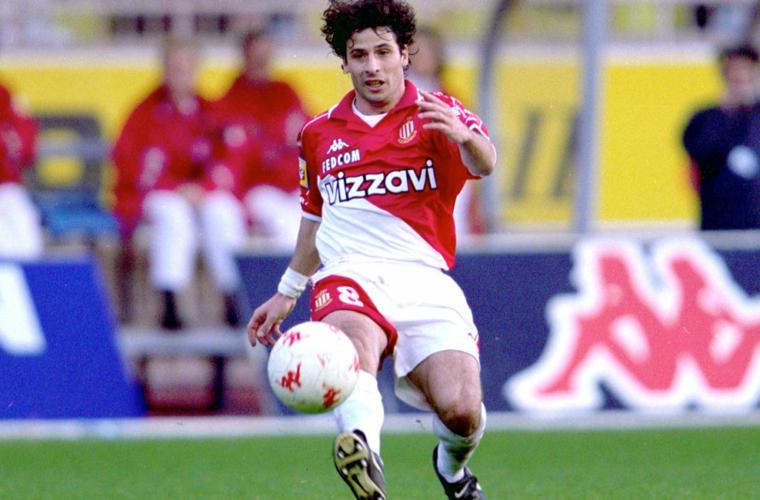24 de enero de 1998, Ludovic Giuly debuta en AS Monaco
