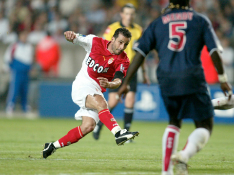 Playing for AS Monaco and PSG