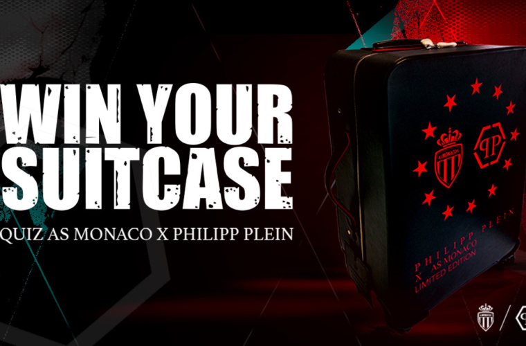 Try to win your AS Monaco x Philippe Plein suitcase