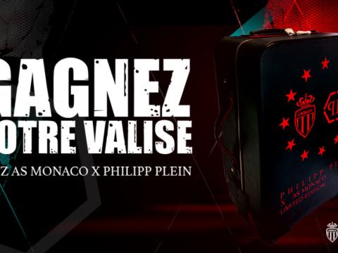 Gagnez votre valise AS Monaco x Philipp Plein