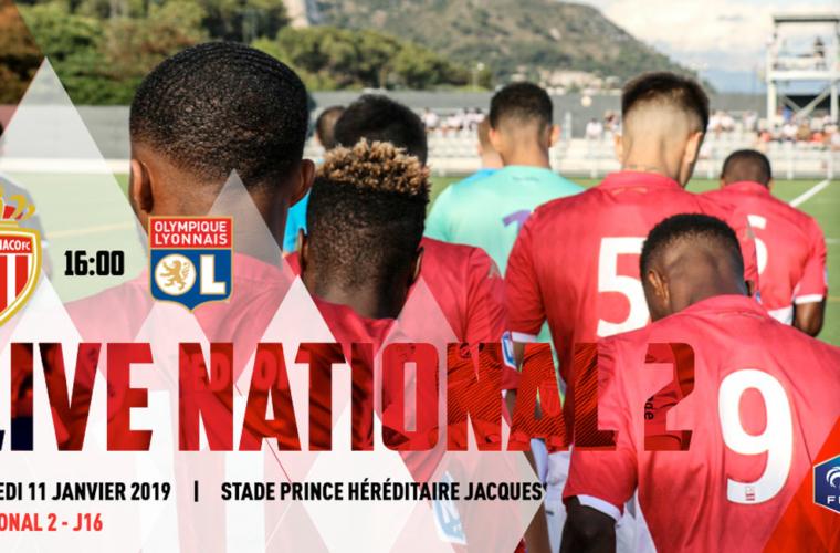 (N2) AS Monaco - OL en live