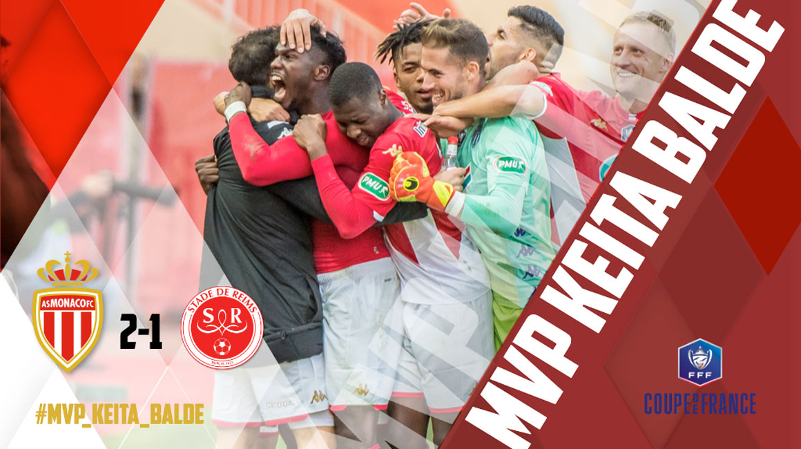 Keita Baldé, MVP du match contre Reims