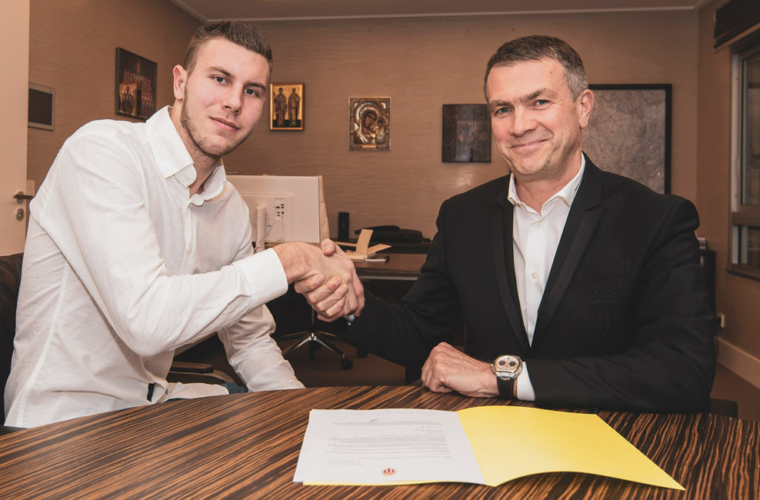 Strahinja Pavlovic oficialmente monegasco