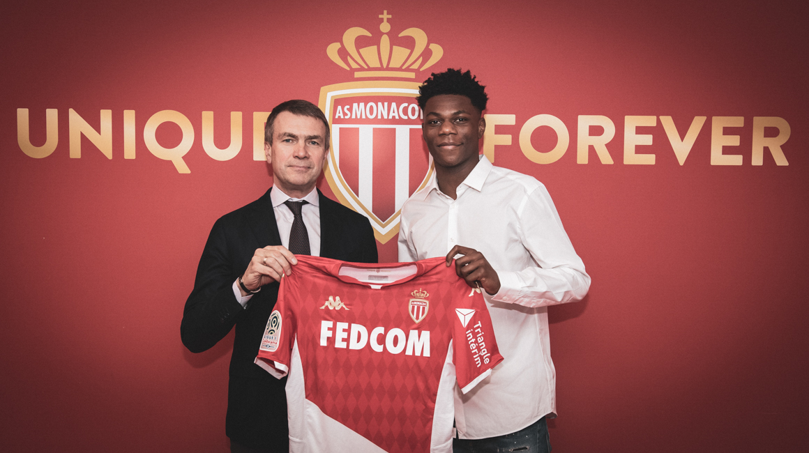Aurélien Tchouaméni signs for AS Monaco