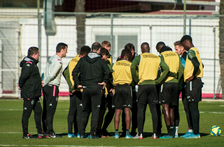 The day's training in pictures