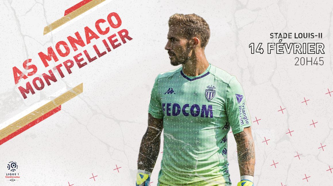 Vos places pour<br>AS Monaco - Montpellier