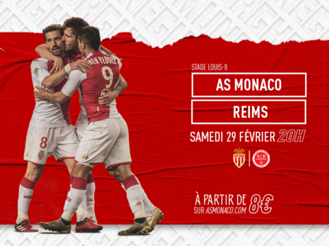 Vos places pour AS Monaco - Reims