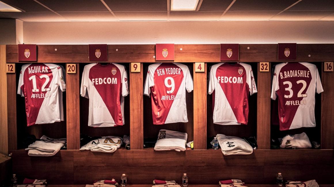 Le onze de l'AS Monaco contre le SCO Angers