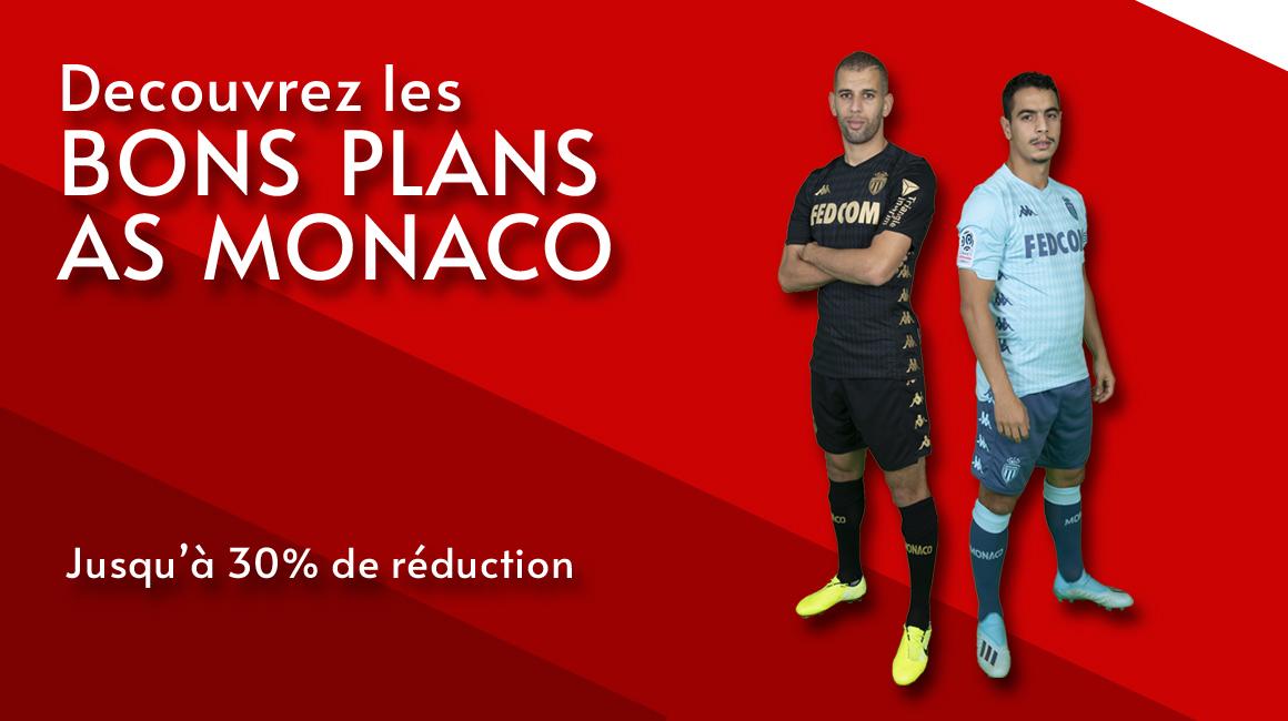 Profitez des bons plans AS Monaco !