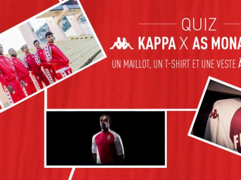 Quiz AS Monaco x Kappa : à vous de jouer !