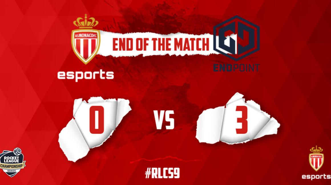 L'AS Monaco Esports malheureux face à Endpoint Esports
