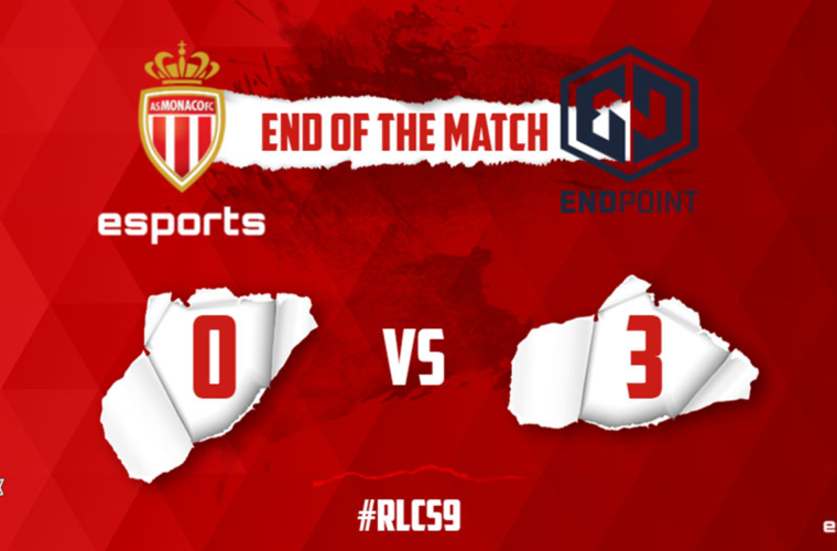 L'AS Monaco Esports are unhappy against Endpoint Esports