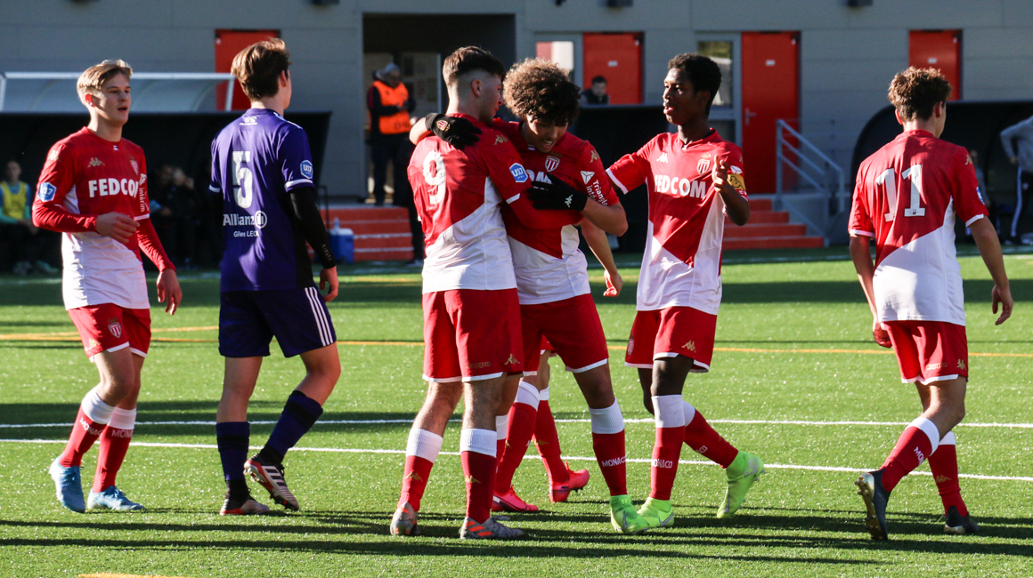(U17) HIGHLIGHTS : AS Monaco 5-0 AC Ajaccio