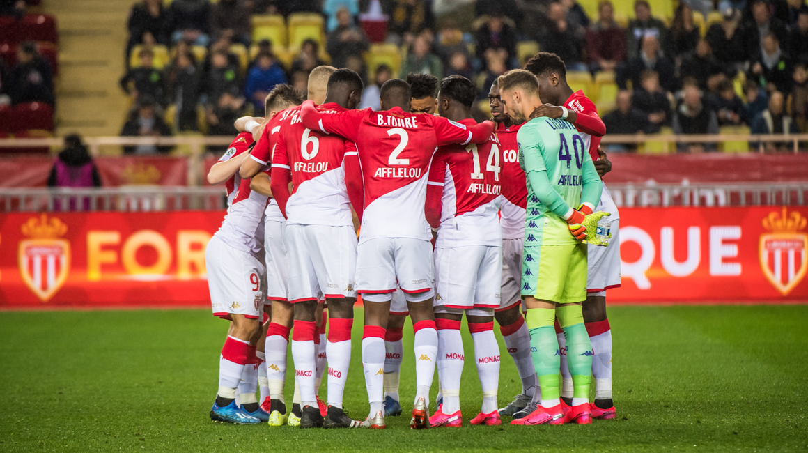 Le groupe de l'AS Monaco pour le derby