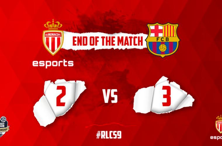 L'AS Monaco Esports s'incline face au FC Barcelone