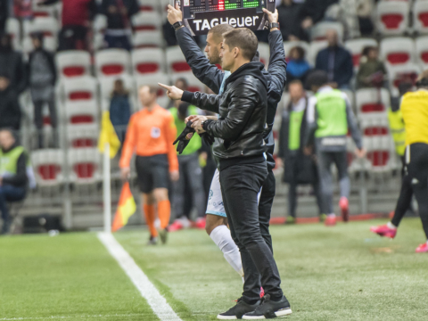 As declarações de Robert Moreno após o duelo contra o Nice