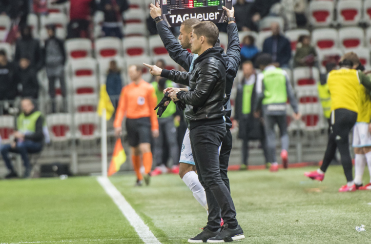 The reaction of Robert Moreno after Nice