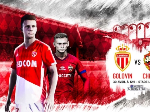Friendly eFootball - Golovin vs Chalov