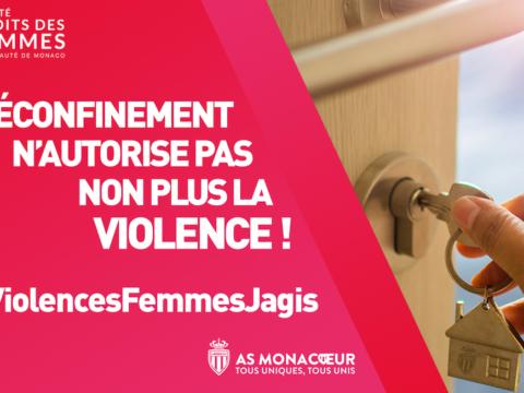 L'AS Monaco se mobilise contre les violences faites aux femmes