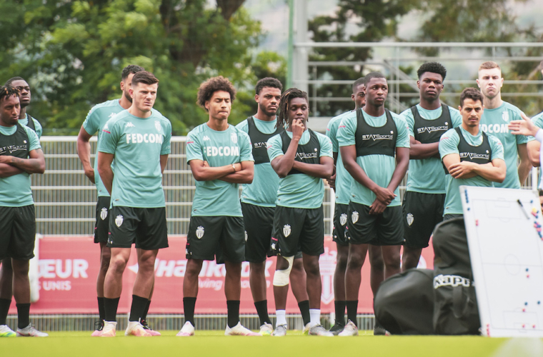 The squad for AS Monaco's training camp in Poland
