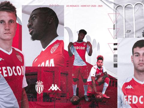 El AS Monaco y Kappa presentan la camiseta titular 2020-21