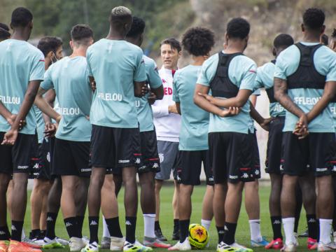 O primeiro treino de Niko Kovac