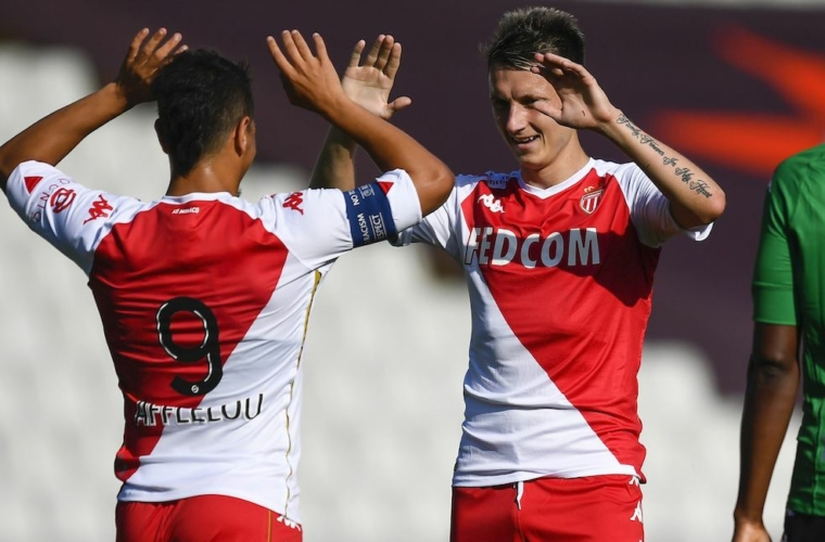 Amistoso: Cercle Bruges 0-2 AS Monaco