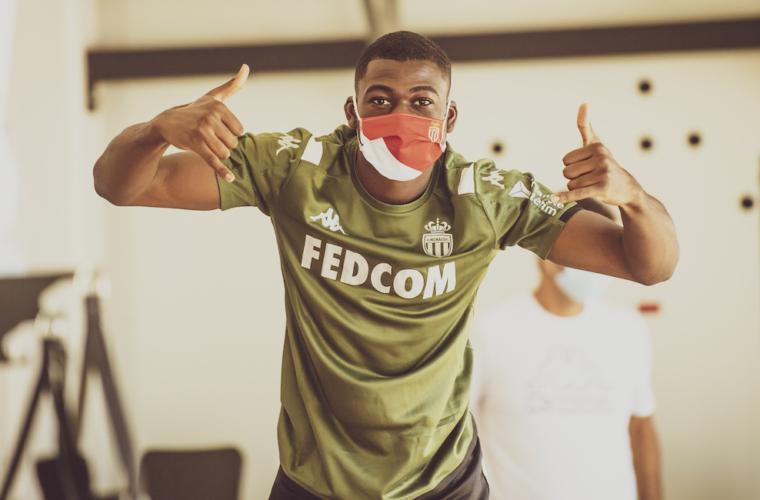 Portez le masque aux couleurs de l'AS Monaco
