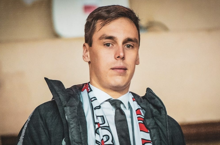 Louis Ducruet starts a new adventure