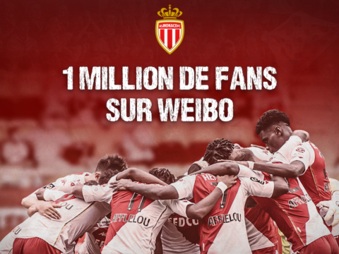 L'AS Monaco passe le million d'abonnés sur Weibo