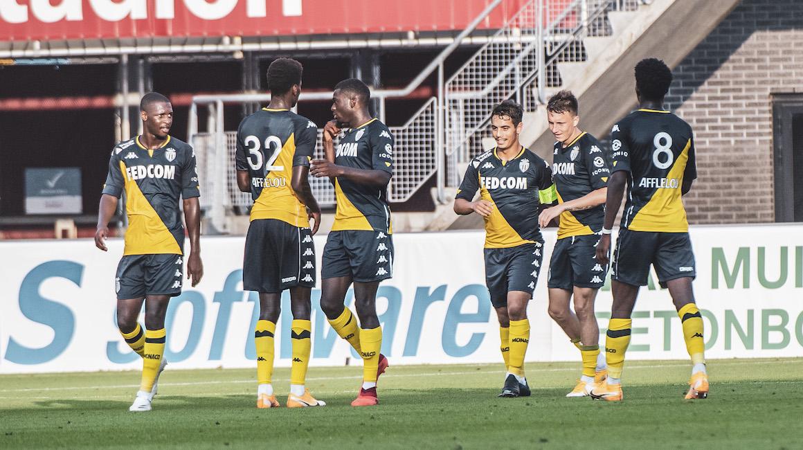 Vitória do AS Monaco em Alkmaar