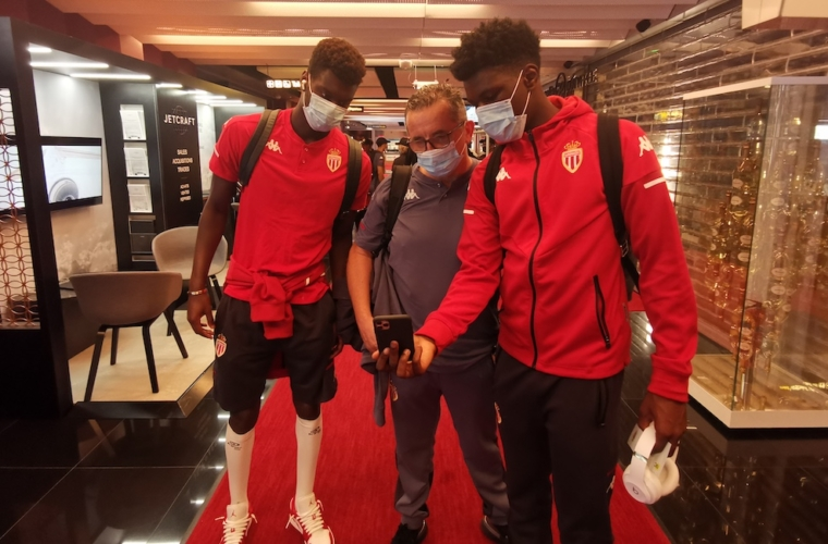 "L'AS Monaco teste son ""passeport sanitaire"" contre la COVID-19"